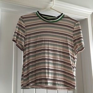 Urban outfitters cropped t-shirt.